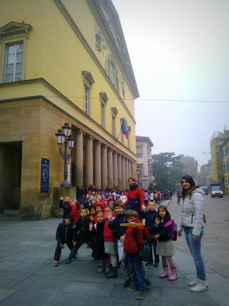 La scuola di edith a Imparolopera, novembre 2013, Falstaff di Giuseppe Verdi.