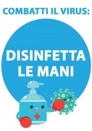 DISINFETTA MANI